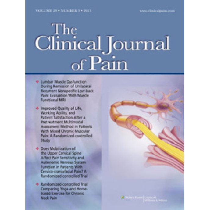A MAPP Network Case-control Study of Urological Chronic Pelvic Pain Compared With Nonurological Pain Conditions.